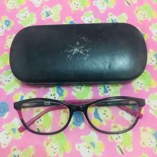 Converse Eyeglasses - Black and Pink