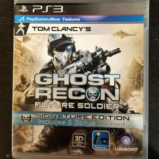 PS3 Tom Clancy's Ghost Recon Future Soldier (Move Edition)