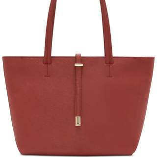 Vince Camuto Saffiano Leather Tote