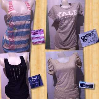 Tops 100each or 2 for 180