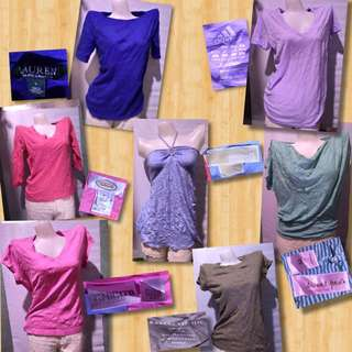 Pre-loved Tops 100 each or 2 for 180