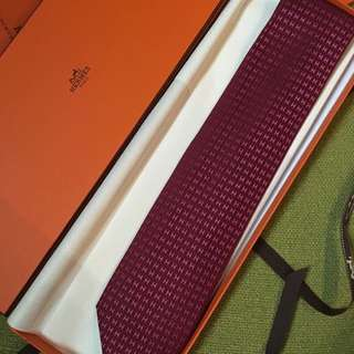 Hermes Silk Men Tie