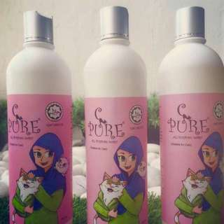 No 1 halal shampoo for cats ( Pure C)