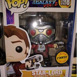 Funko Pop Star Lord Chase