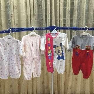4件組6個月嬰兒衣服