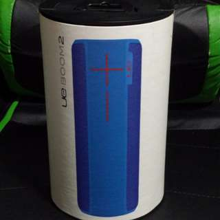 Ultimate Ears BOOM 2 BrainFreeze Wireless Mobile Bluetooth Speaker (Waterproof and Shockproof) - Blue
