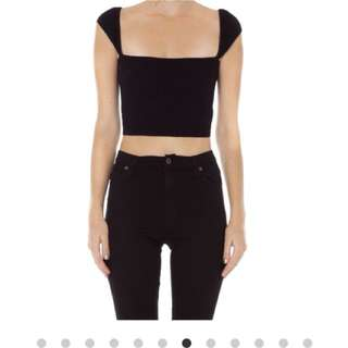 ARE YOU AM I ANKE SLEEVE TOP