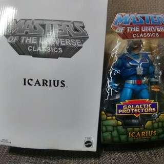 MASTER OF THE UNIVERSE CLASSICS : ICARIUS (not Marvel Legends, DC, Heman)