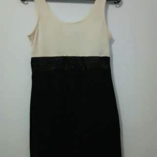 Party dress black&white