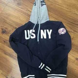 🚚 MLB 紐約洋基 New York Yankees 連帽外套