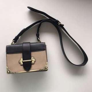 Prada Cahier Look-a-like bag