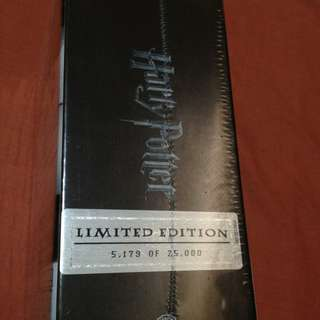 Harry Potter Limited 'Numbered' Edition (#5179 of 25000) - Complete 8-Film Collection (Blu-Ray + DVD)