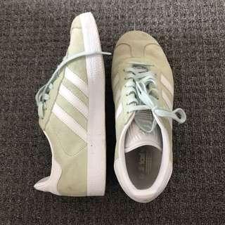 Green Adidas Sneakers