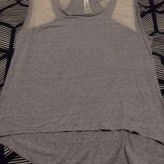 Grey singlet size L
