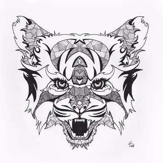 Original tiger print