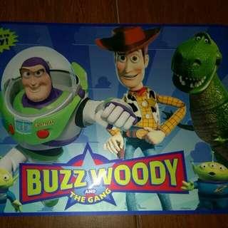 Disney Toys story 餐墊