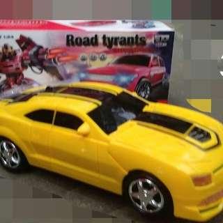 Bumble Bee Car and Robot