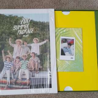 WTS BTS Summer Package with Yoongi selfie book