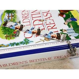 "🎄🌟⛄❄🎁❤[MerryCharms.com] RBB02 ""Wonderful Christmas Story"" Ribbon Merry Charm Charming Bookmark"