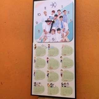 PROMO!! Kalender Jam (2 in 1)
