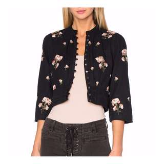 *SALE* AMUSE SOCIETY Embroidered Jacket