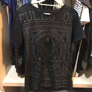Remix、OVERKILL、Provider T-shirt 黑 #手滑買太多
