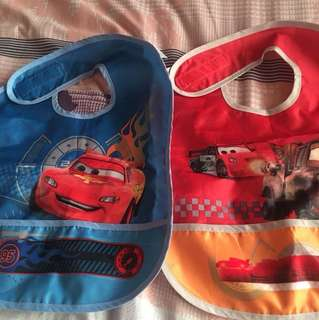 2-pc Toddler Bibs made of Polyester