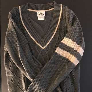 Lacoste knit sweater