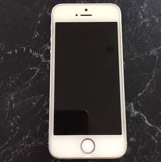 iPhone se silver 64gb