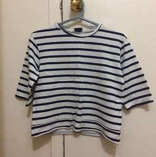 Zara stripe t shirt