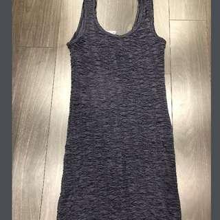 BNWT short navy bodycon dress