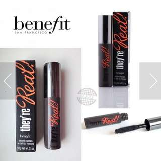 Mascara they're real benefit