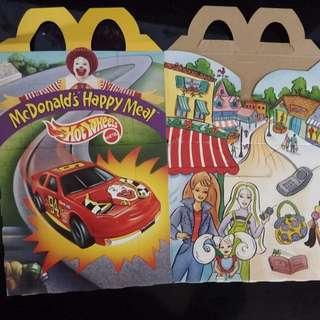 懷舊 經典 麥記 麥當奴 開心樂園 餐 紙盒