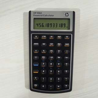 HP 10bII Financial & Scientific Calculator