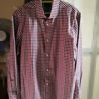 H&M Chequered Long sleeve shirt for sale!