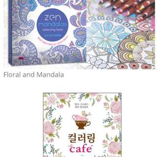Brand New Coloring Books - Ready Stocks