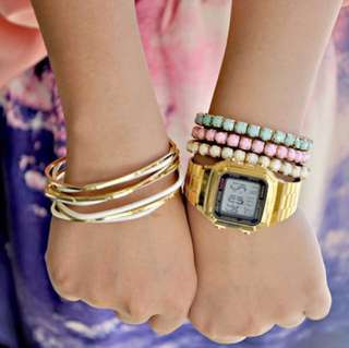 Casio A178 Gold