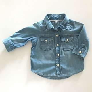 babyGap denim shirt (2nd pc)