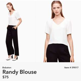 Wilfred Randy Blouse