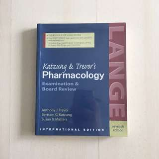 Katzung & Trevor's Pharmacology Board Review 7th Edition