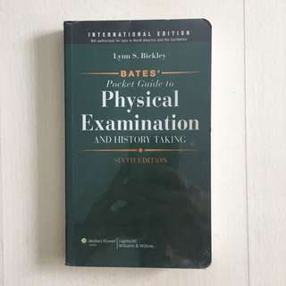 Bates' Pocket Guide to Physical Examination and History Taking 6th Edition