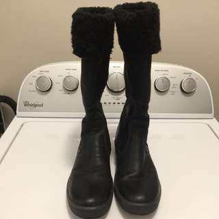 100% Leather Boots (Made In Italy)