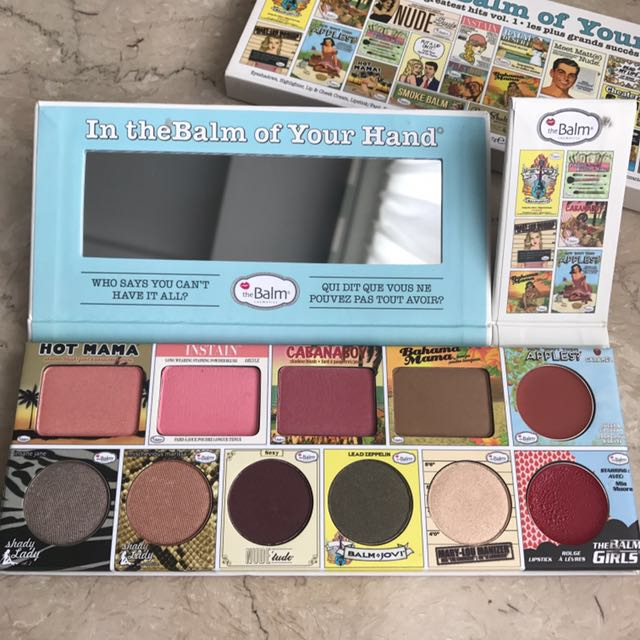 100% Ori The Balm of your hand 1- NEW!