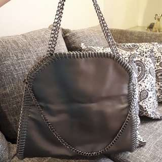Bronze Chained Bag