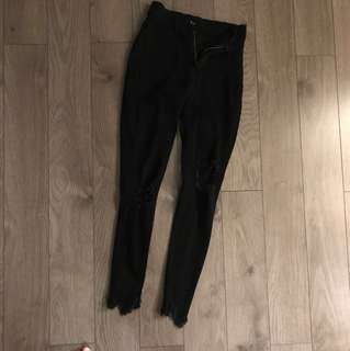 Black fashion nova jeans