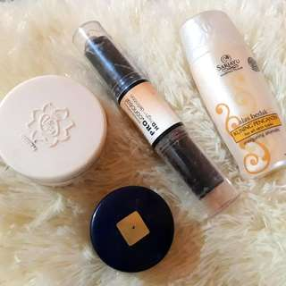 Sari Ayu Alas Bedak. Viva Foundation. Rieva Foundation. Kiss Beauty Conceal