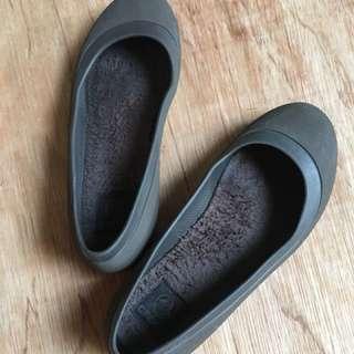 Authentic Crocs Flats,Size 8