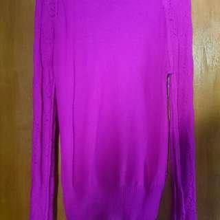 Knitted longsleeves pink