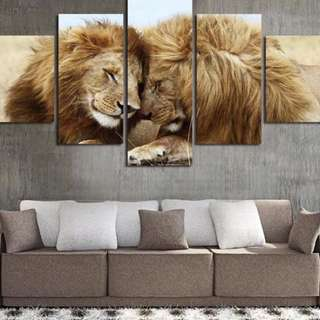 LION LOVE - 5 PIECE