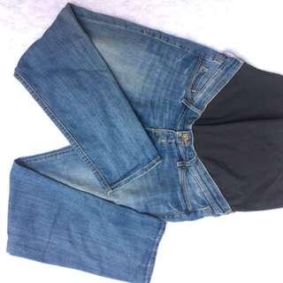 Mama Skinny Maternity Pants,Medium